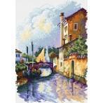 Kanwa z nadrukiem - Most Giuseppe