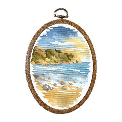 Kanwa z nadrukiem - Upalne wybrzeże