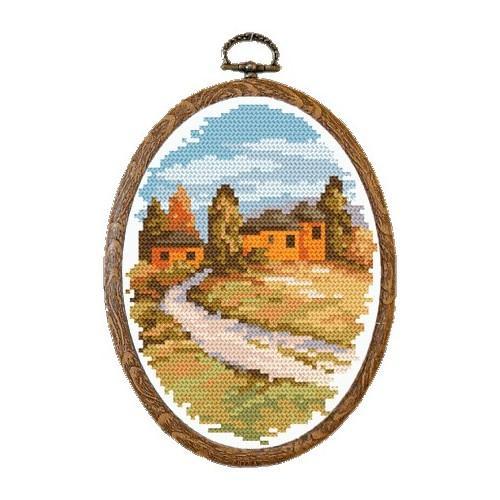 Kanwa z nadrukiem - Jesienna Umbria