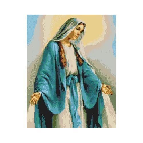 Kanwa z nadrukiem - Matka Boża Cudownego Medalika