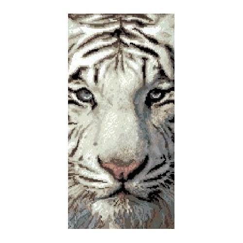 Kanwa z nadrukiem - Tygrys syberyjski