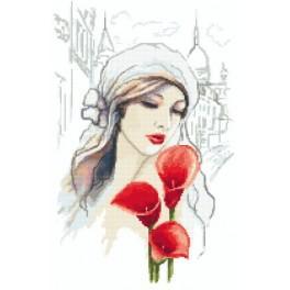 Kanwa z nadrukiem - Madame Calia