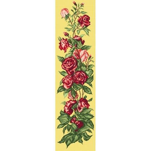Kanwa z nadrukiem - Pnąca róża