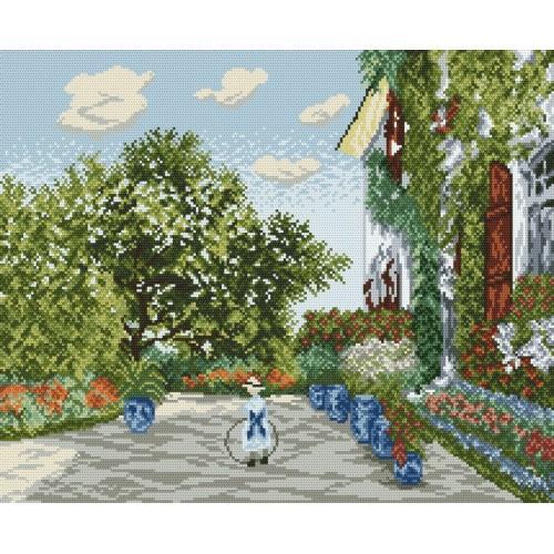 Kanwa z nadrukiem - Dom Artysty w Argenteuil - Claude Monet