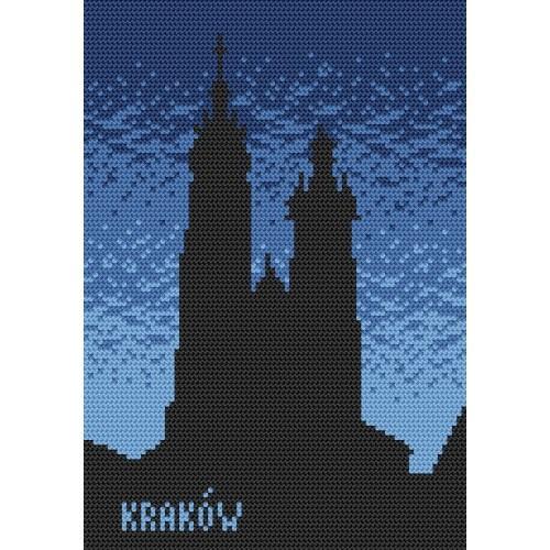 Kanwa z nadrukiem - Kraków