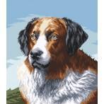 Kanwa z nadrukiem - Psi przyjaciel