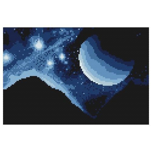Kanwa z nadrukiem - Gwiazdozbiór