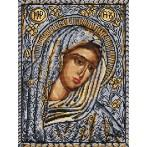 Kanwa z nadrukiem - Ikona Matki Boskiej