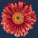 Kanwa z nadrukiem - Czerwony gerber