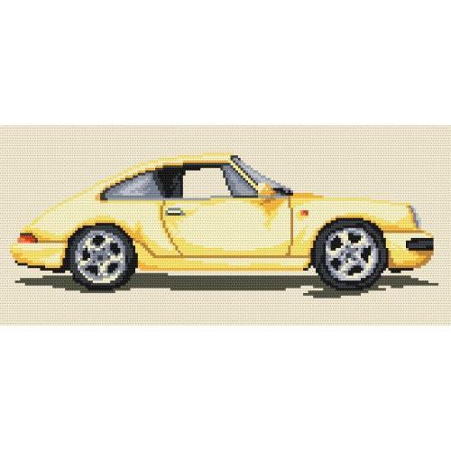 Kanwa z nadrukiem - Porsche
