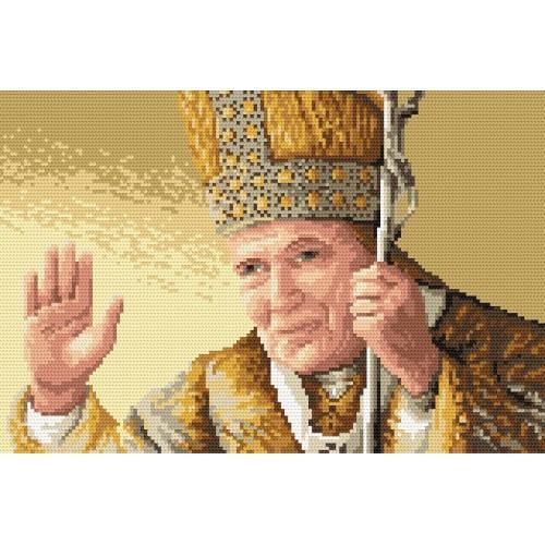Kanwa z nadrukiem - Ojciec Święty
