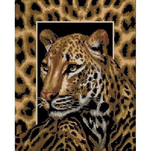 Kanwa z nadrukiem - Leopard