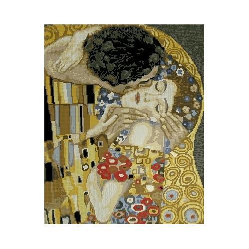 Kanwa z nadrukiem - G. Klimt - Pocałunek