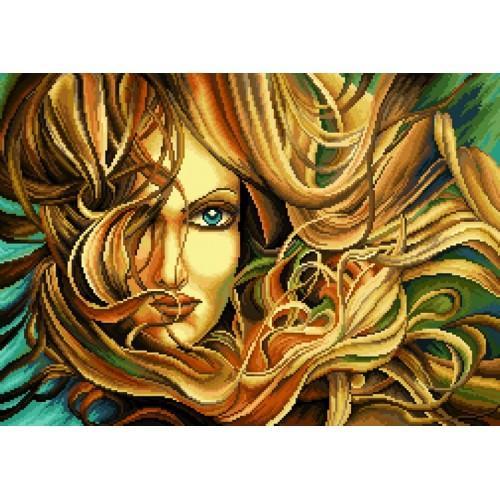 Kanwa z nadrukiem - Jesienne piękno