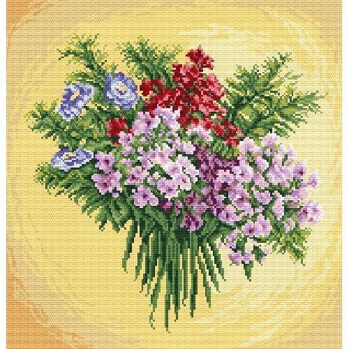 Kanwa z nadrukiem - Wiosenna inspiracja