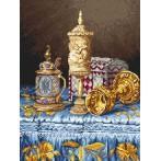 Kanwa z nadrukiem - Przepych baroku