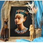 Kanwa z nadrukiem - Nefertiti