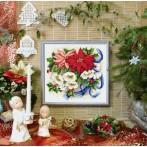 Kanwa z nadrukiem - Świąteczna kompozycja