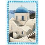 Kanwa z nadrukiem - Wspomnienia z wakacji - Grecja