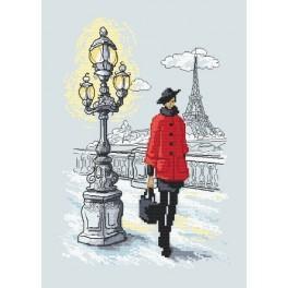 Wzór graficzny online - Paryski szyk