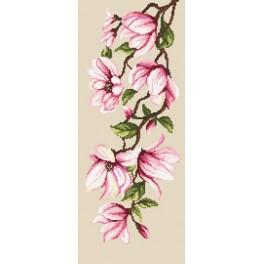 Wzór graficzny online - Delikatne magnolie