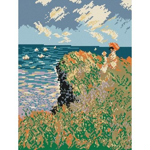 W 196 Wzór graficzny ONLINE pdf - Spacer - Claude Monet