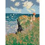 Wzór graficzny online - Spacer - Claude Monet