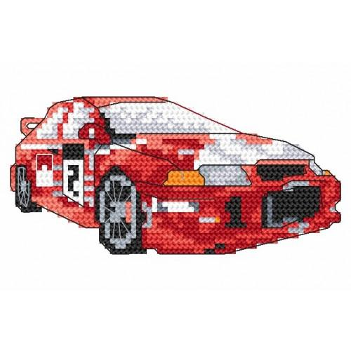 Wzór graficzny online - Samochody sportowe- Lancer
