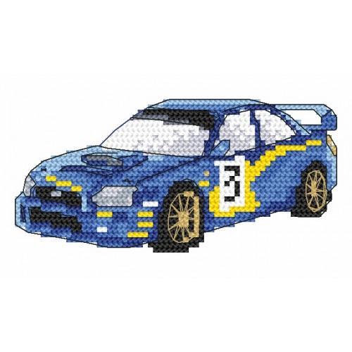 W 2008 Wzór graficzny online - Samochody sportowe- Subaru