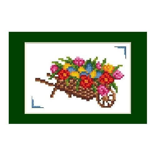 W 2055 Wzór graficzny ONLINE pdf - Kartka wielkanocna - Wielkanoc