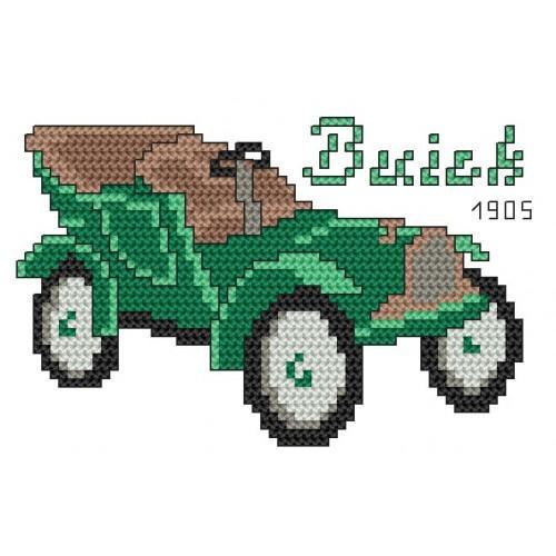 Wzór graficzny online - Buick 1905