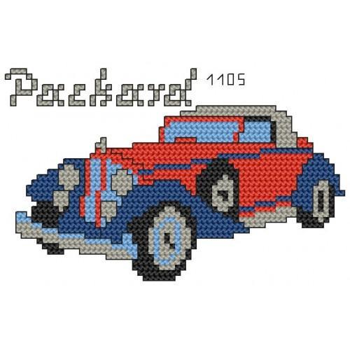 Wzór graficzny online - Packard 1105