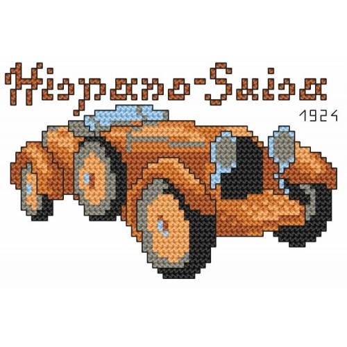 Wzór graficzny online - Hispano-Suiza 1924