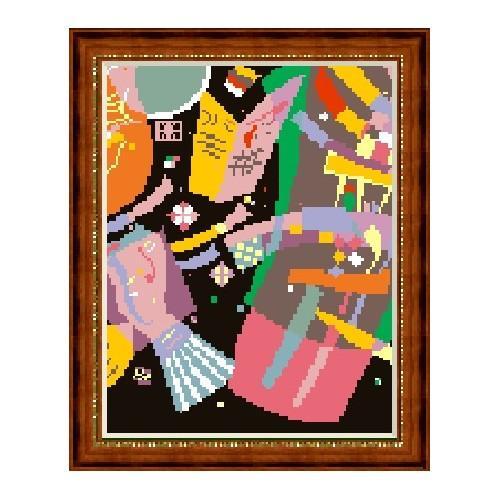 W 225 Wzór graficzny ONLINE pdf - Kompozycja X - W. Kandinsky