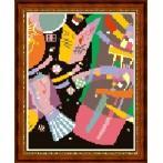 Wzór graficzny online - Kompozycja X - W. Kandinsky