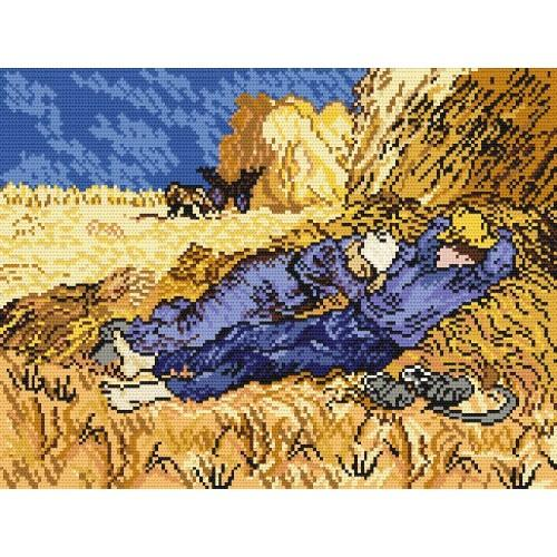 W 240 Wzór graficzny ONLINE pdf - Żniwiarze - V. van Gogh