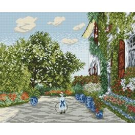 Wzór graficzny online - Dom Artysty w Argenteuil - Claude Monet