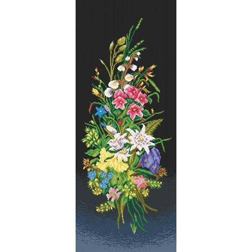 Wzór graficzny online - Kompozycja kwiatowa