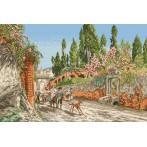 Wzór graficzny online - Wiosna w Rzymie