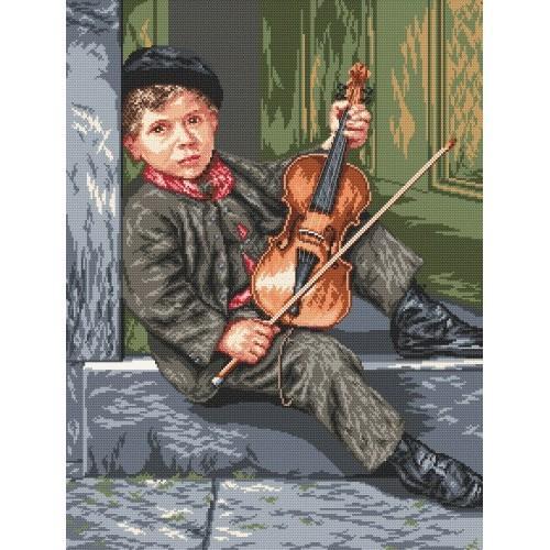 Wzór graficzny online - Mały skrzypek