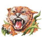 Wzór graficzny online - Tygrys