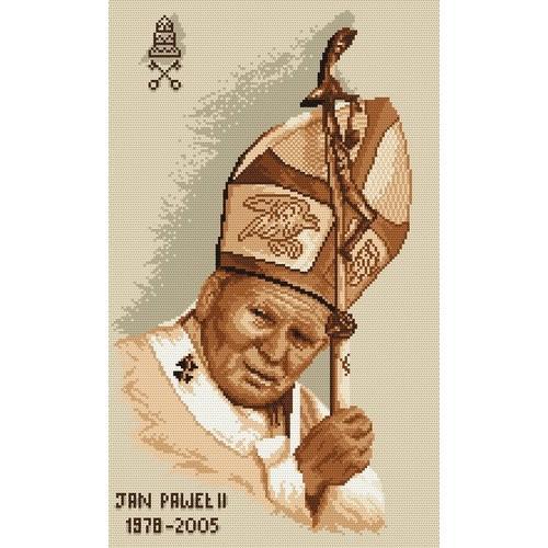 W 4038 Wzór graficzny online - Papież Jan Paweł II