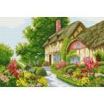 W 4081 Wzór graficzny ONLINE pdf - Domek w kwiatach
