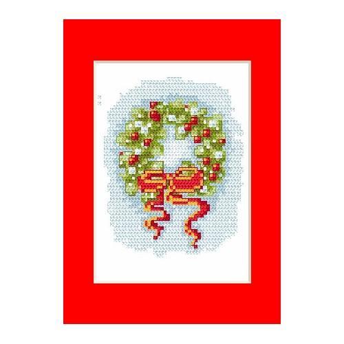 Wzór graficzny online - Kartka świąteczna