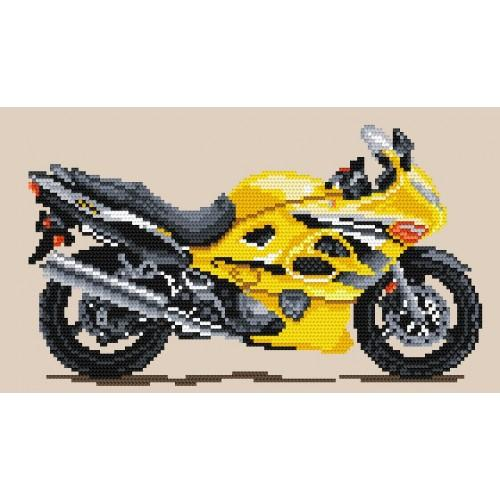 Wzór graficzny online - Motocykle - Złoty wicher