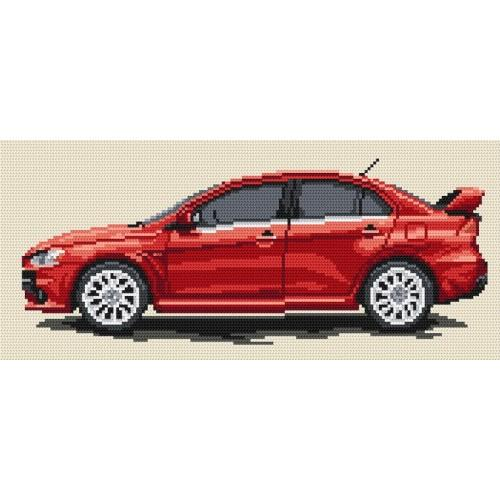 Wzór graficzny online - Mitsubishi Lancer