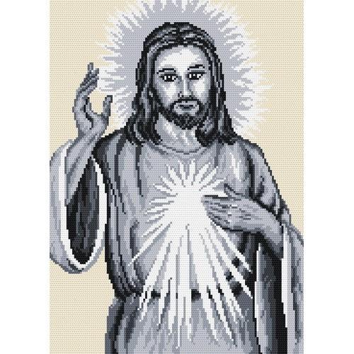 Wzór graficzny online - Jezus