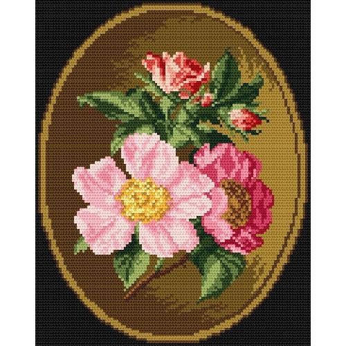 Wzór graficzny online - Dzika róża
