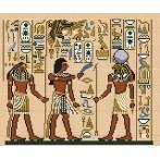 Wzór graficzny online - Egipskie malowidło