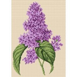 W 4314 Wzór graficzny ONLINE pdf - Kwiat bzu